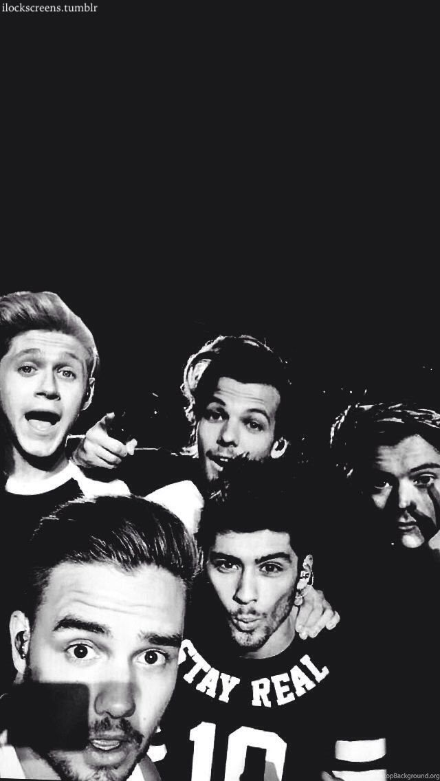 Wallpaper Tumblr Black In 2020 One Direction Quotes One Direction Lockscreen One Direction Pictures