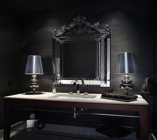The 25 Best Small Powder Rooms Ideas On Pinterest: Best 25+ Black Powder Room Ideas On Pinterest