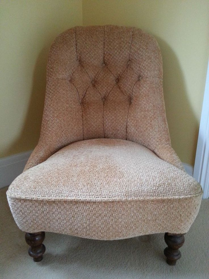 Victorian Nursing Chair - re-upholstered - Very good condition in Antiques, Antique  Furniture - 66 Best Nursing Chairs Vintage Images On Pinterest Nursing Chair