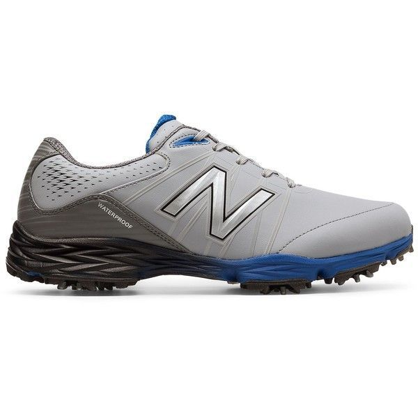 New Balance Golf 2004 Men's Golf Shoes ($120) ❤️ liked on Polyvore featuring men's fashion, men's shoes, mens golf shoes, mens shoes and new balance mens shoes