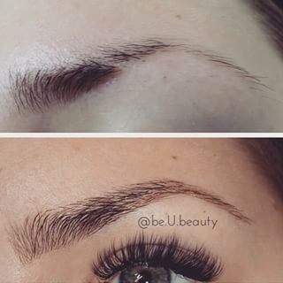 Brow extensions last between 2-3 weeks and cost anywhere from $75 to $350. | Women Are Getting Eyebrow Extensions And The Results Are Totally Mind-Blowing