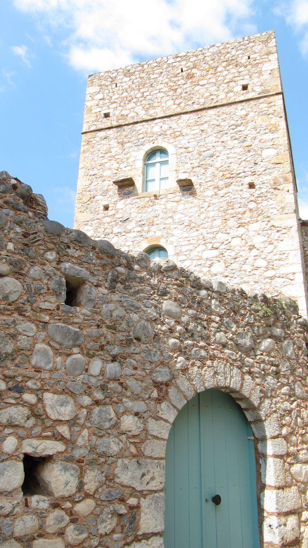 A tower at Kardamyli, Peloponnese, Greece