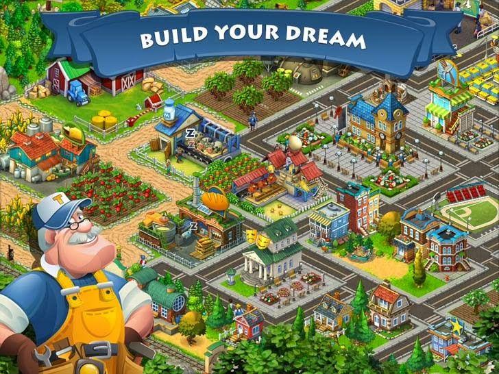 Township App. City Builder, Farming Apps.