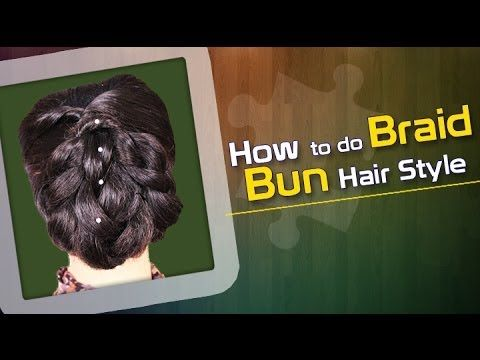 How To Do Braid Bun Visit for tutorial:- https://www.youtube.com/watch?v=RS5_hyADS20