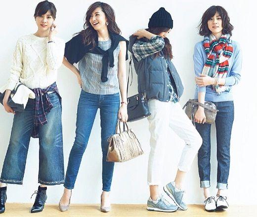 いつものデニムが見違える!14の着こなし術 チェック×デニム #Denim #デニム #チェック #Fashion #コーディネート