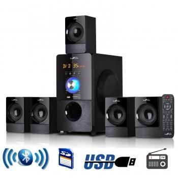 beFree Sound 5.1 Channel Surround Sound Bluetooth Speaker System in Black  #for #and #best #is #design #in #to #men #it #pictures
