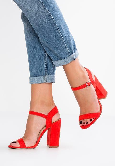bestil  Even&Odd Højhælede sandaletter / Højhælede sandaler - red til kr 299,00 (11-08-17). Køb hos Zalando og få gratis levering.