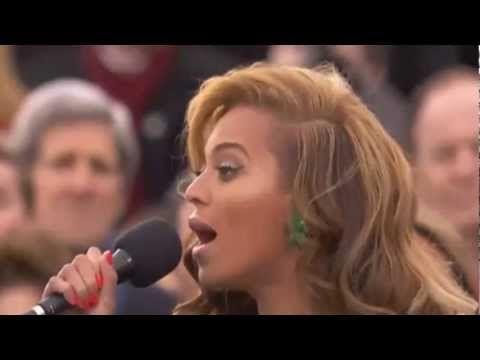 Beyonce chante l'hymne américain pour l'investiture de Barack Obama