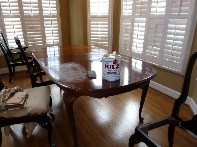 Our Fifth House: Bringing Shabby Back - The New Kitchen Table