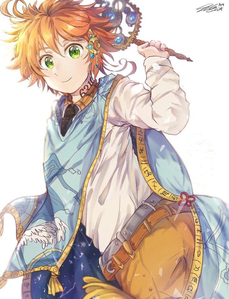 Emma The Promised Neverland Neverland, Anime, Anime art