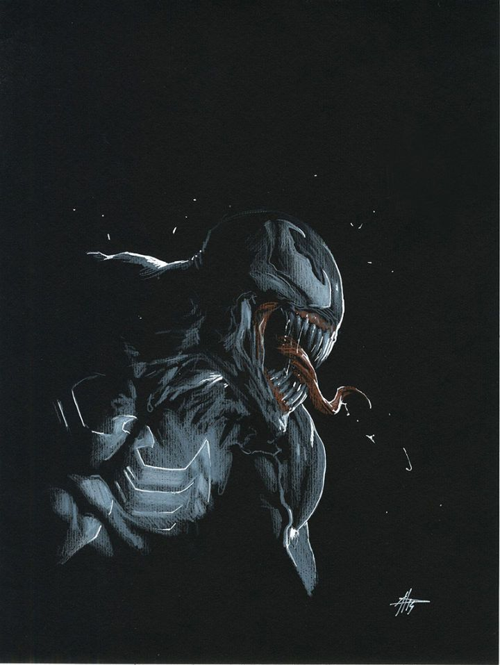 Venom #150 variant cover by Gabriele Dell'otto. (Marvel Comics)