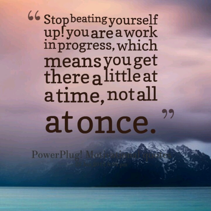 Persistence Motivational Quotes: 23 Best Progress Not Perfection Images On Pinterest