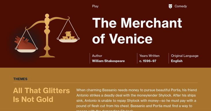 literary analysis of the merchant of Creating an interesting literary essay on merchant of venice literary essays are very common in high school, so you need to know how to tackle them.
