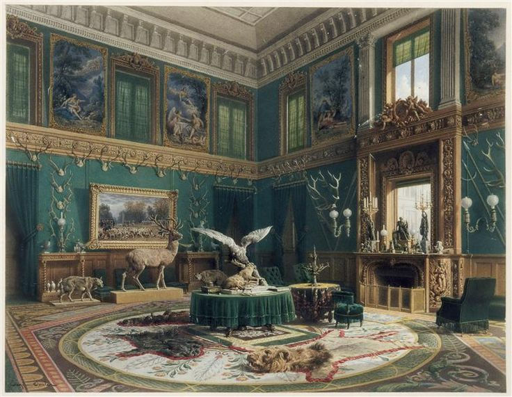Famous Interior Paintings: 289 Best Images About 19th Century Interior Painting On