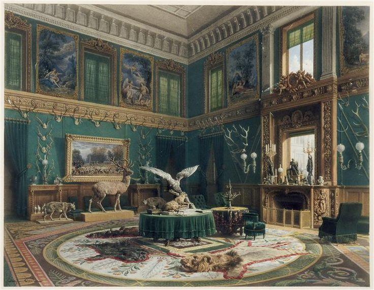 Le salon de la vnerie chez le comte Edgar Ney, Eugne Edouard Souls