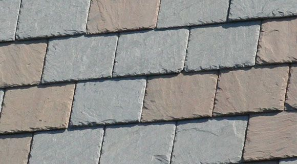 Semi-Weathering Vermont Gray slate roof
