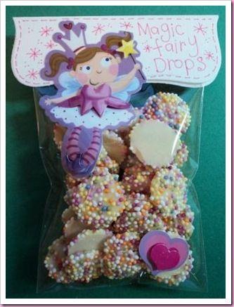 little girl fairy chocolates More