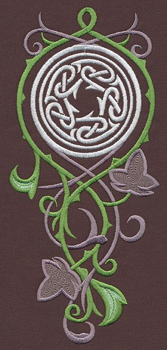 Elven Court Knotwork Cascade