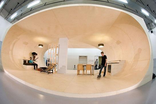 Pierre André Senizergues' Fully Skateable House | Beautiful/Decay Artist & Design