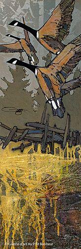Jean-Pierre Guay, 'St-Antoine', 10'' x 30'' | Galerie d'art - Au P'tit Bonheur - Art Gallery