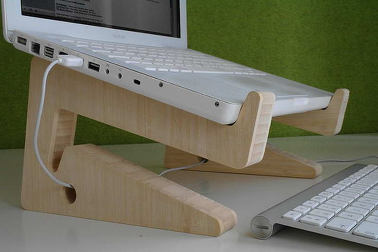 DIY Laptop Stand to Make Your Work Easier: DIY Laptop Stand With ...