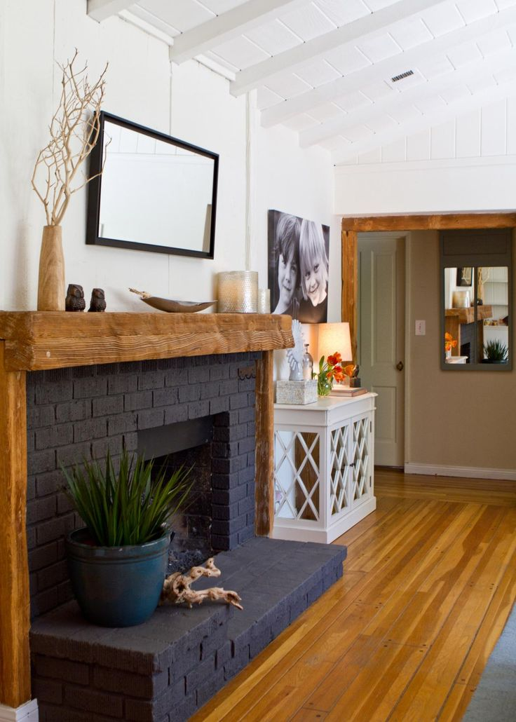 Best 25 Painted Brick Fireplaces Ideas On Pinterest Brick Fireplace Makeover Update Brick
