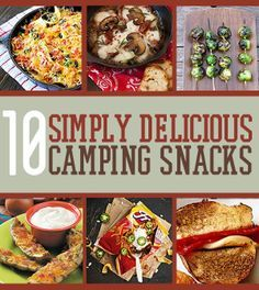 Simply Delicious Camping Snack Ideas | #survivallife www.survivallife.com