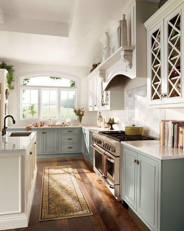 30 elegant farmhouse kitchen design decor ideas country kitchen designs french country on kitchen ideas elegant id=72824