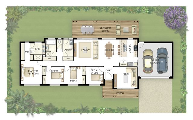 Coral Homes :: Winton features