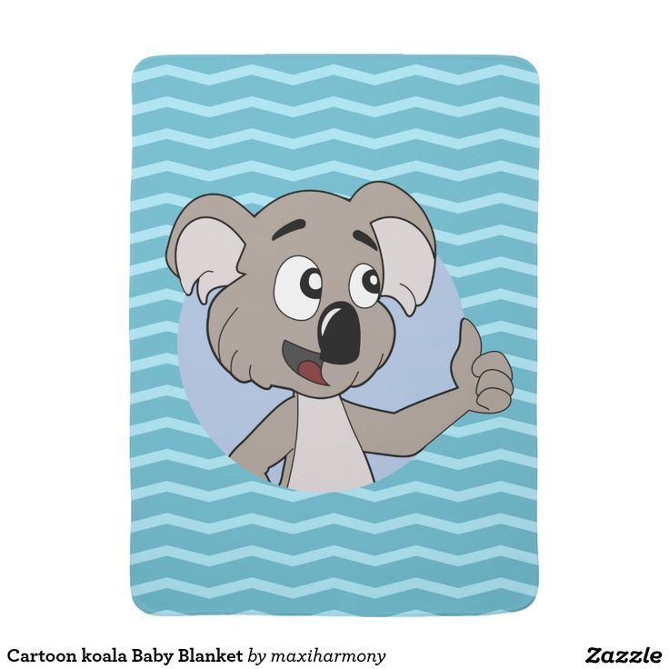 Cartoon koala Baby Blanket