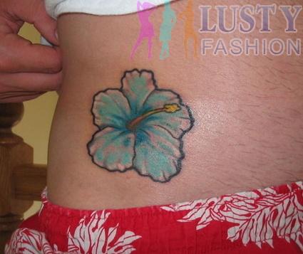 blue hibiscus tattoo designs, I loooovvvvveeee it!!!!!!