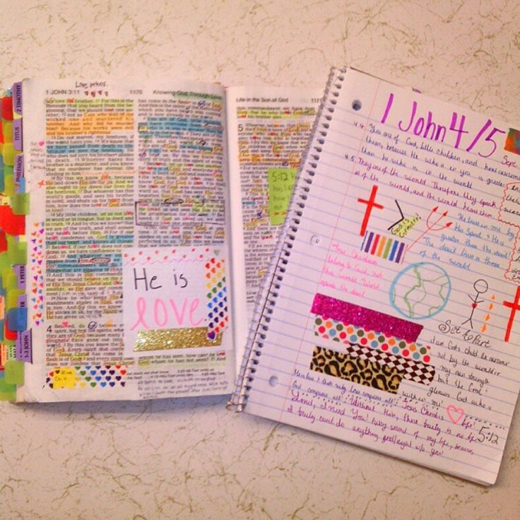 Bible marking, highlighting and journaling. Great tips & inspirational!