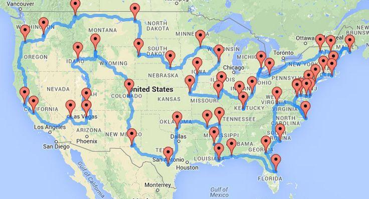 Ultimate American Road Trip by Dr. Randy Olsen
