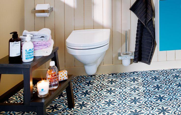 lite baderom med logiske løsninger-Gustavsberg