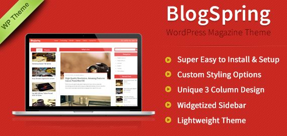 New Way to give Professional Look to News Blog or Online Magazine Website