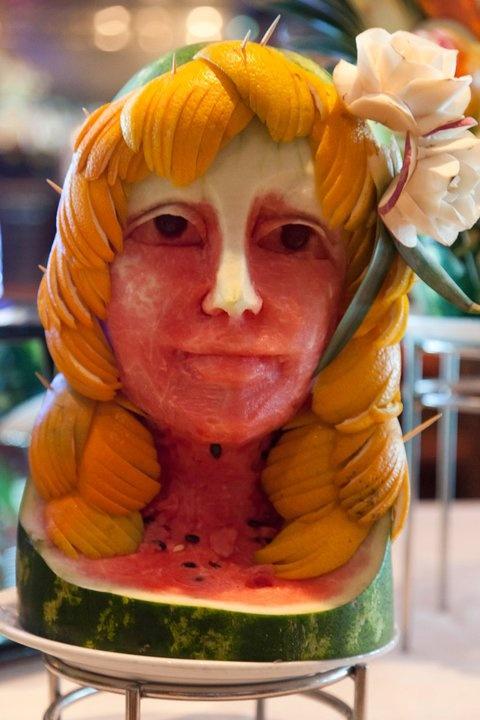 Watermelon art - Wow! #food #art