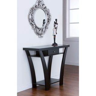 Furniture Of America Shinway Modern Black Finish Console Table, Overstock.com,  $129.