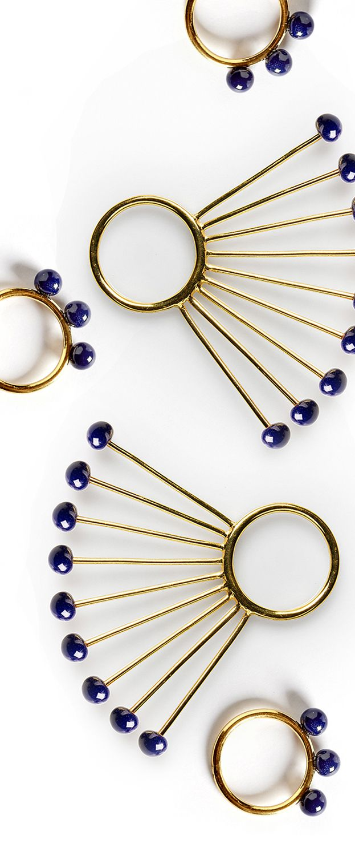 Peacock rings. info@anajoaojewelry.com