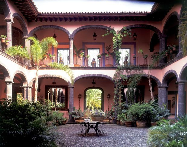 79 best images about houses on pinterest house plans for Mexican style architecture