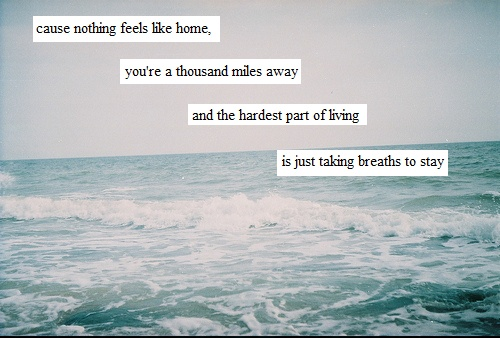 This song describes a lot of what I'm going through right now... Miserable at Best, Mayday Parade