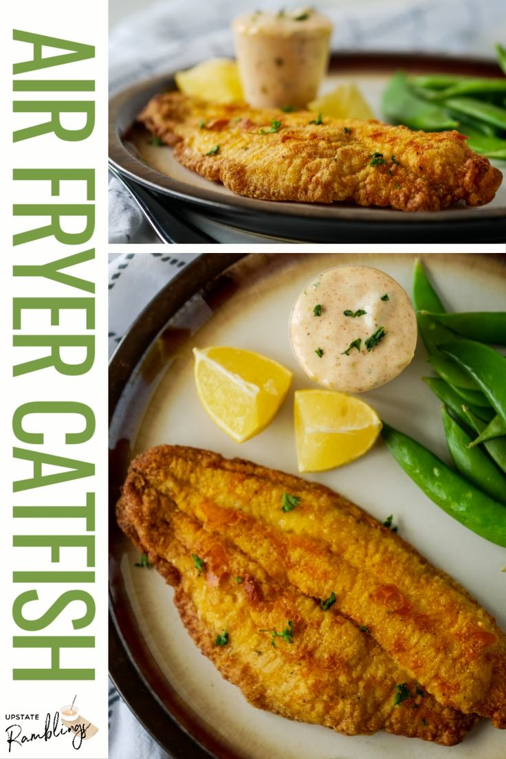 Air Fryer Catfish easy recipe in 2020 Catfish recipes