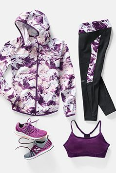 New Balance Geared for performance. The Mountain Camo Collection. Workout Clothes for Women
