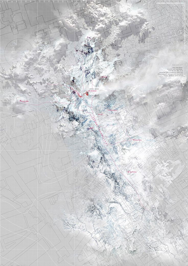 "Atlas of Vanishing Landscapes, ""Glacier 3"" / YuFei Li, AA 2015"