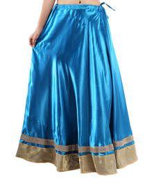 Buy Rajasthan Traditional Satin Full Lehanga skirt online