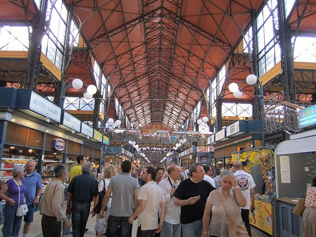 Market in Budapest by adriennw, via Flickr