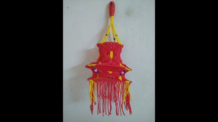 HOW TO MAKE MACRAME JHUMAR/LANTERN/AKASHKANDIL - NEW DESIGN-COMPLETE STE...