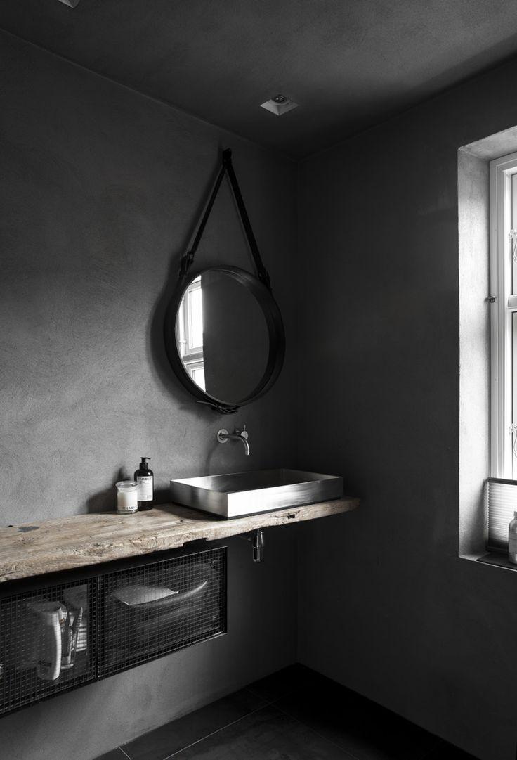 best 25 dark grey bathrooms ideas on pinterest. Black Bedroom Furniture Sets. Home Design Ideas