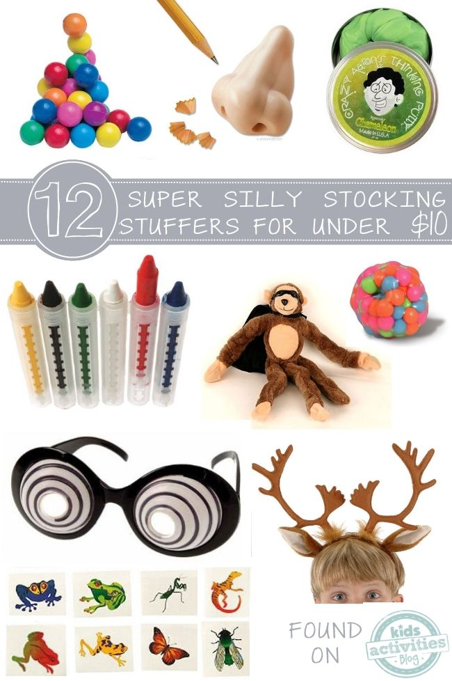 12 stocking stuffers that will make your kids giggle - all are under $10