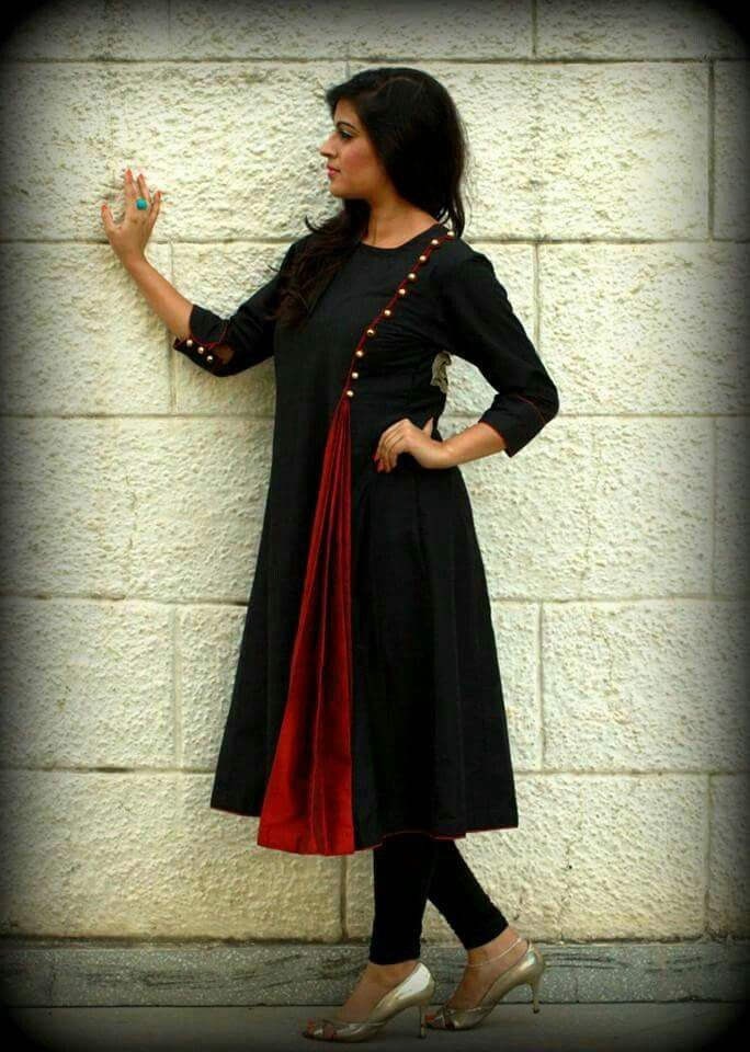 long dress kurti pertn