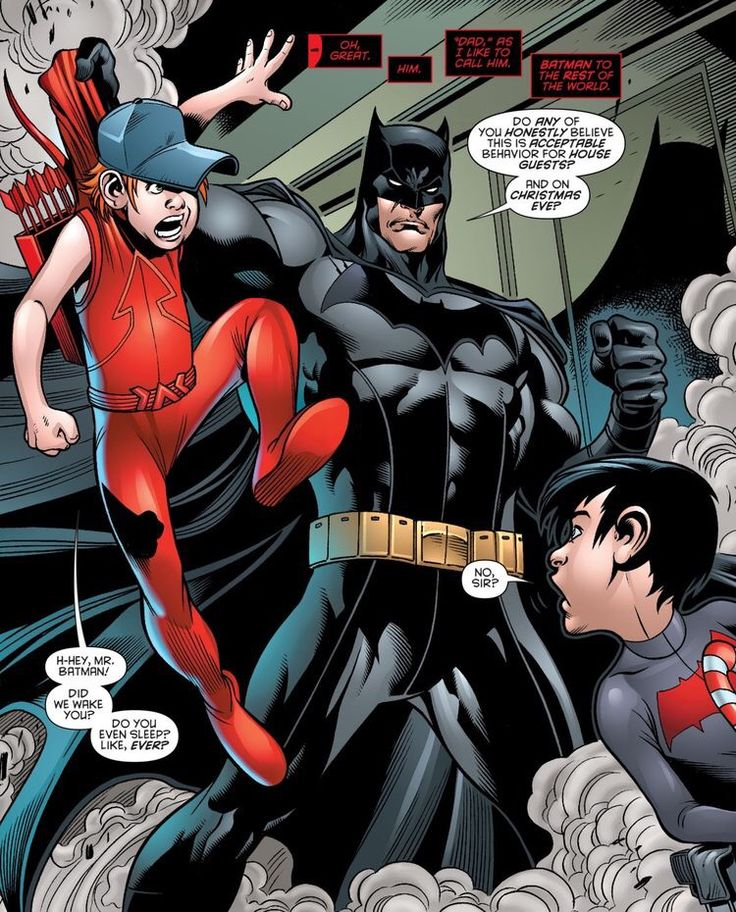 Jason and Bruce // Batman: Prelude to the Wedding: Red